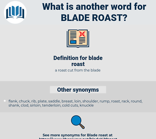 blade roast, synonym blade roast, another word for blade roast, words like blade roast, thesaurus blade roast