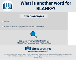 blank, synonym blank, another word for blank, words like blank, thesaurus blank