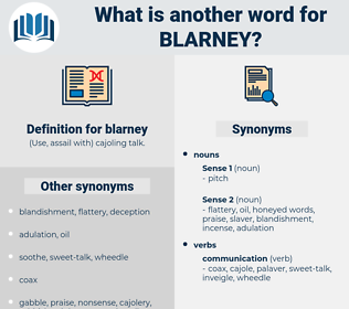 blarney, synonym blarney, another word for blarney, words like blarney, thesaurus blarney