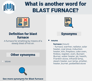 blast furnace, synonym blast furnace, another word for blast furnace, words like blast furnace, thesaurus blast furnace