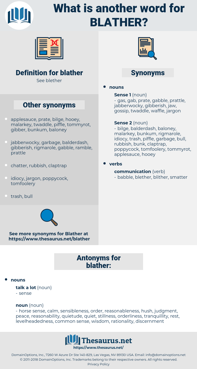 blather, synonym blather, another word for blather, words like blather, thesaurus blather