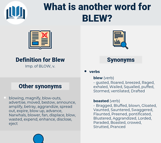 Blew, synonym Blew, another word for Blew, words like Blew, thesaurus Blew