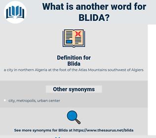 Blida, synonym Blida, another word for Blida, words like Blida, thesaurus Blida