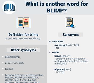 blimp, synonym blimp, another word for blimp, words like blimp, thesaurus blimp