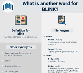 blink, synonym blink, another word for blink, words like blink, thesaurus blink
