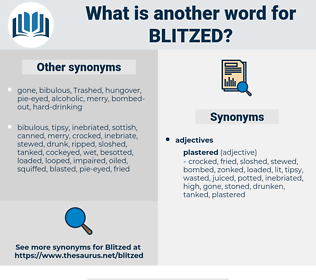 blitzed, synonym blitzed, another word for blitzed, words like blitzed, thesaurus blitzed