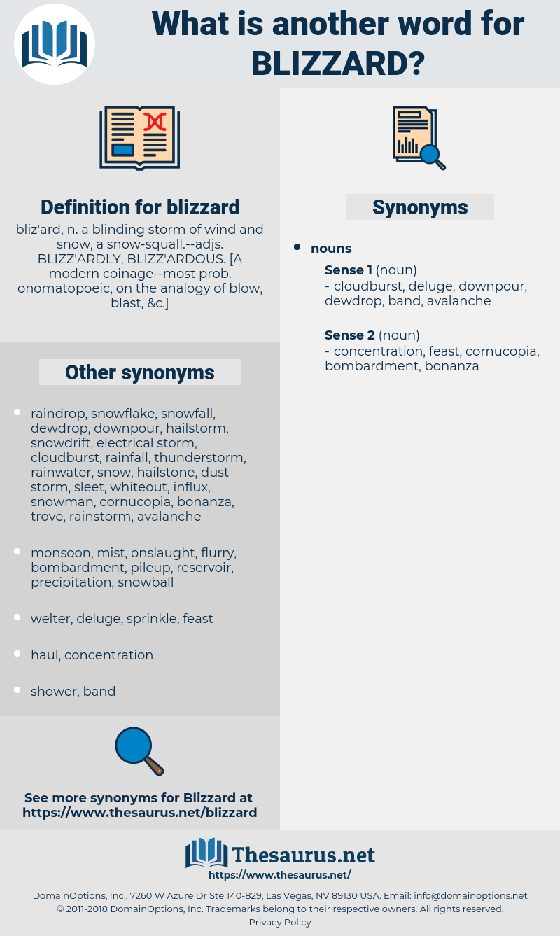 blizzard, synonym blizzard, another word for blizzard, words like blizzard, thesaurus blizzard