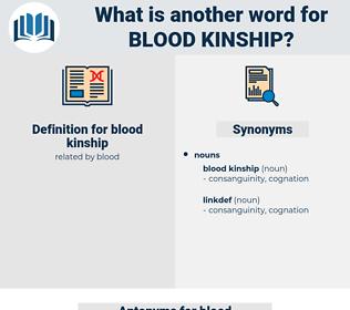 blood kinship, synonym blood kinship, another word for blood kinship, words like blood kinship, thesaurus blood kinship
