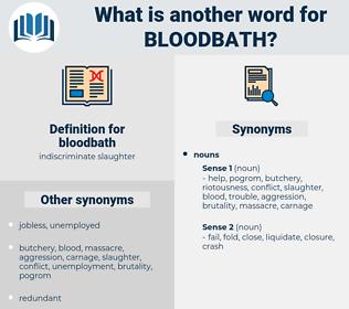 bloodbath, synonym bloodbath, another word for bloodbath, words like bloodbath, thesaurus bloodbath