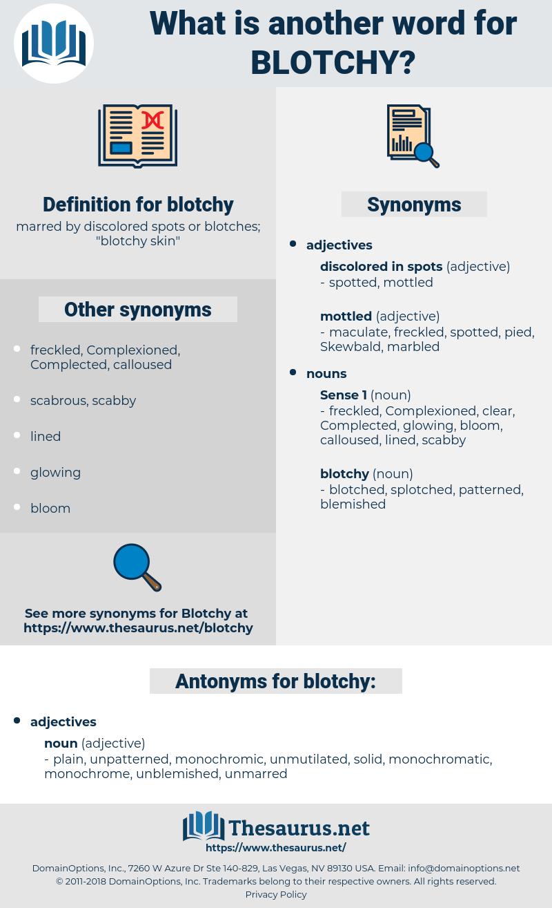 blotchy, synonym blotchy, another word for blotchy, words like blotchy, thesaurus blotchy
