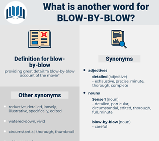 blow-by-blow, synonym blow-by-blow, another word for blow-by-blow, words like blow-by-blow, thesaurus blow-by-blow