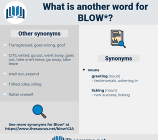 blow, synonym blow, another word for blow, words like blow, thesaurus blow