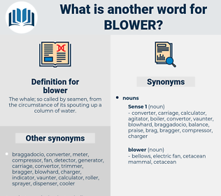 blower, synonym blower, another word for blower, words like blower, thesaurus blower