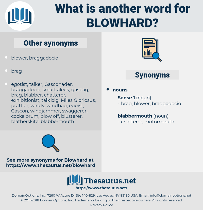 blowhard, synonym blowhard, another word for blowhard, words like blowhard, thesaurus blowhard