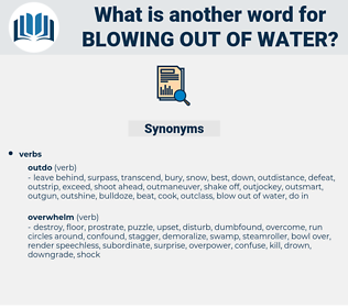 blowing out of water, synonym blowing out of water, another word for blowing out of water, words like blowing out of water, thesaurus blowing out of water