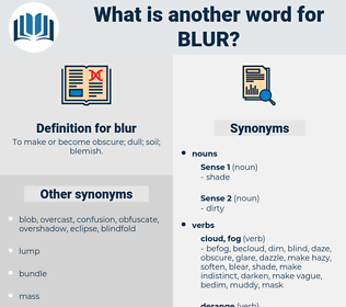 blur, synonym blur, another word for blur, words like blur, thesaurus blur