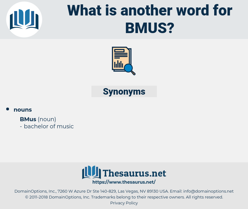 bmus, synonym bmus, another word for bmus, words like bmus, thesaurus bmus