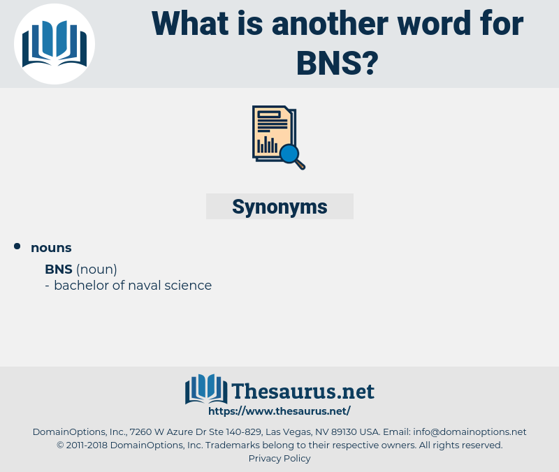 bns, synonym bns, another word for bns, words like bns, thesaurus bns