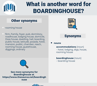 boardinghouse, synonym boardinghouse, another word for boardinghouse, words like boardinghouse, thesaurus boardinghouse