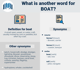 boat, synonym boat, another word for boat, words like boat, thesaurus boat