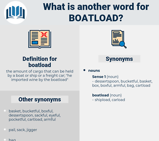 boatload, synonym boatload, another word for boatload, words like boatload, thesaurus boatload
