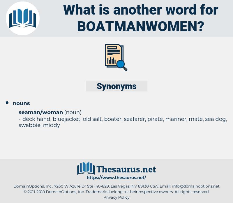 boatmanwomen, synonym boatmanwomen, another word for boatmanwomen, words like boatmanwomen, thesaurus boatmanwomen