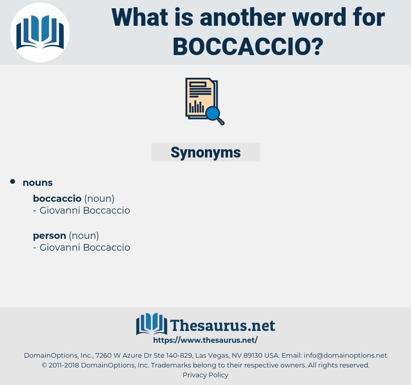 boccaccio, synonym boccaccio, another word for boccaccio, words like boccaccio, thesaurus boccaccio