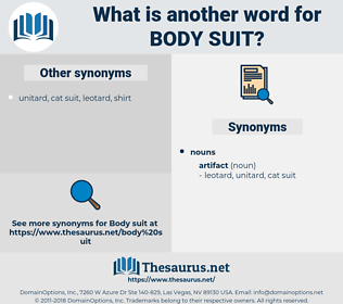 body suit, synonym body suit, another word for body suit, words like body suit, thesaurus body suit