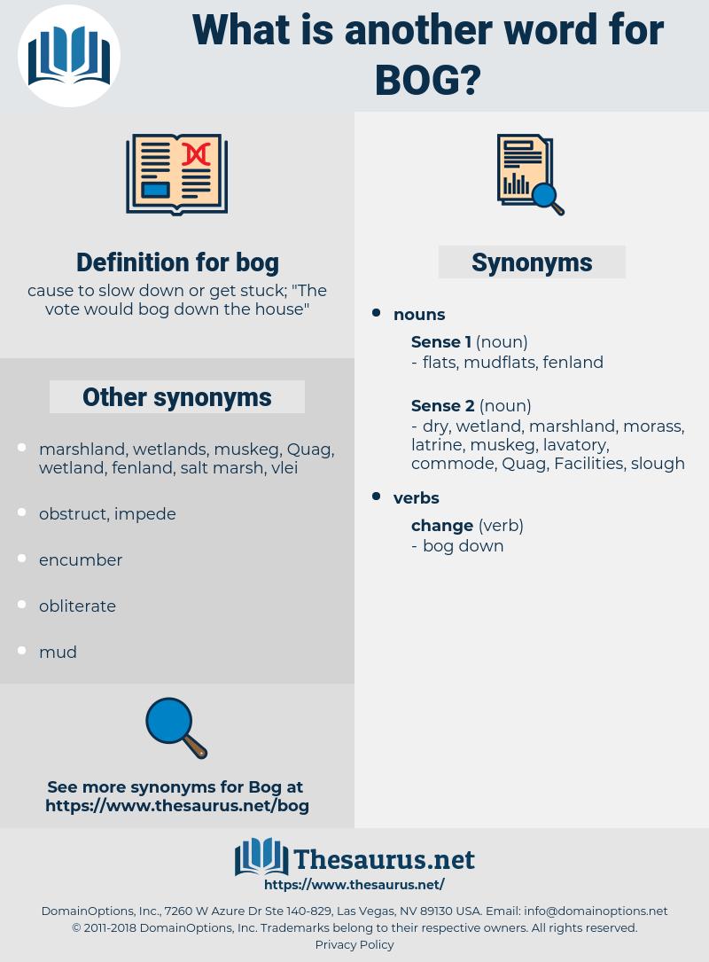 bog, synonym bog, another word for bog, words like bog, thesaurus bog