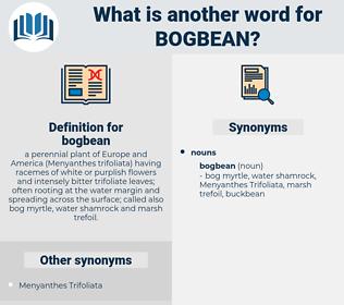 bogbean, synonym bogbean, another word for bogbean, words like bogbean, thesaurus bogbean