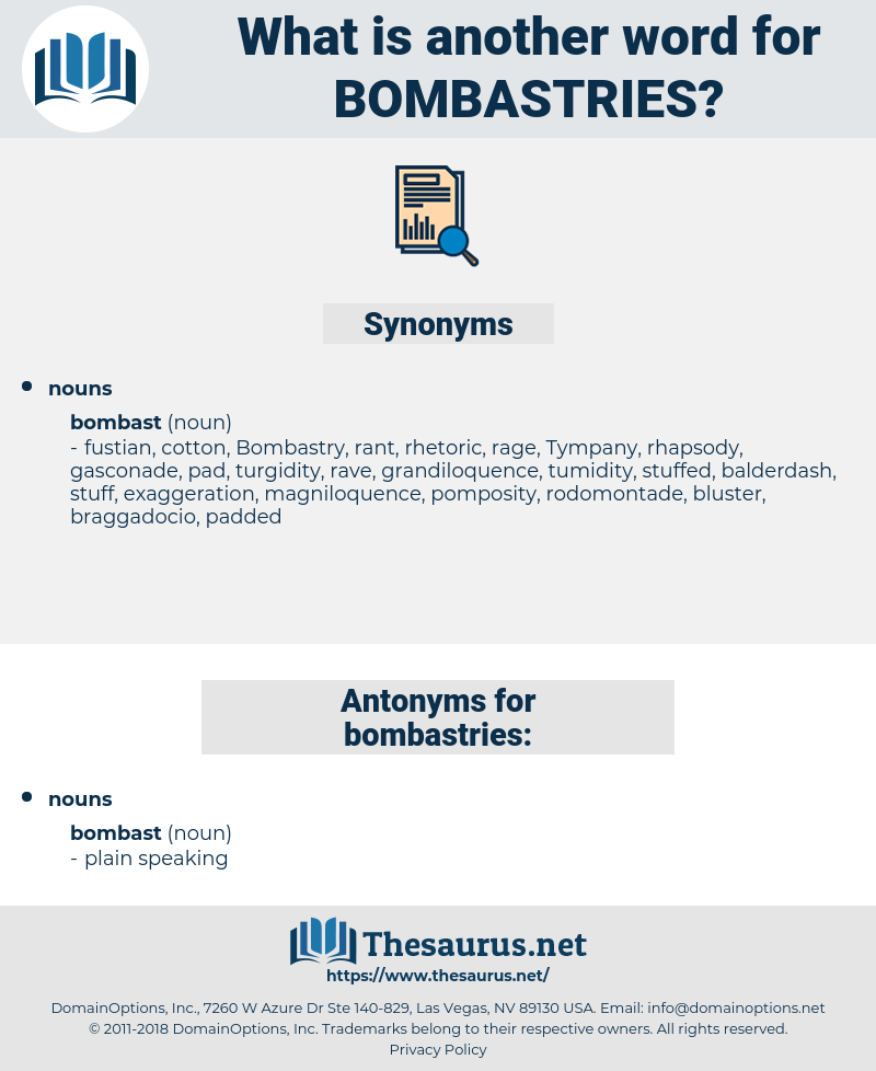 bombastries, synonym bombastries, another word for bombastries, words like bombastries, thesaurus bombastries
