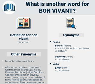 bon vivant, synonym bon vivant, another word for bon vivant, words like bon vivant, thesaurus bon vivant