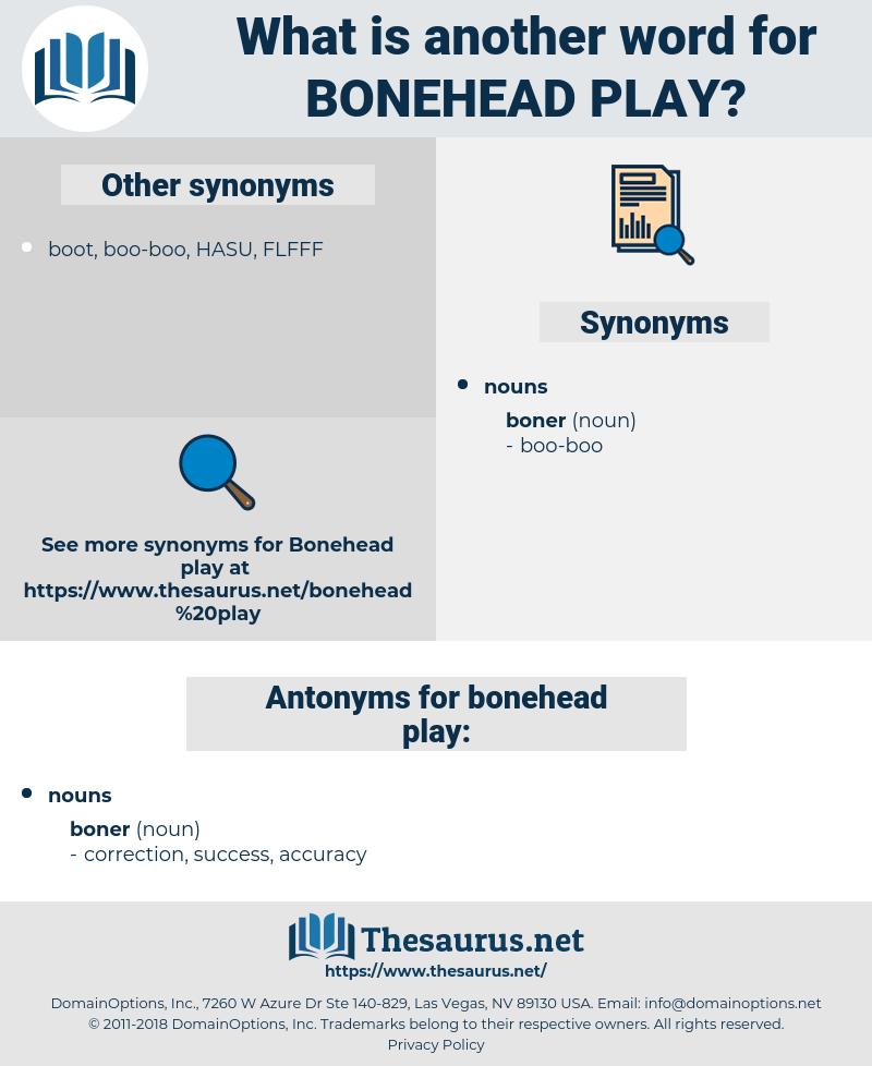 bonehead play, synonym bonehead play, another word for bonehead play, words like bonehead play, thesaurus bonehead play