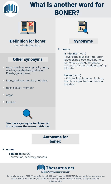 boner, synonym boner, another word for boner, words like boner, thesaurus boner