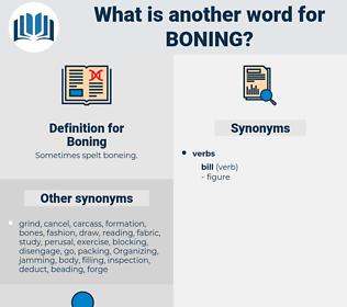 Boning, synonym Boning, another word for Boning, words like Boning, thesaurus Boning