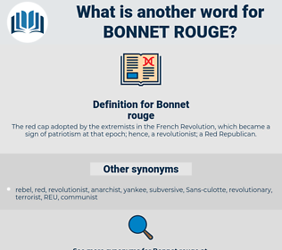 Bonnet rouge, synonym Bonnet rouge, another word for Bonnet rouge, words like Bonnet rouge, thesaurus Bonnet rouge