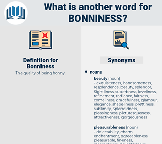 Bonniness, synonym Bonniness, another word for Bonniness, words like Bonniness, thesaurus Bonniness