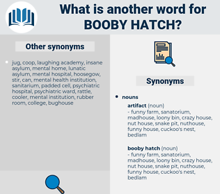 booby hatch, synonym booby hatch, another word for booby hatch, words like booby hatch, thesaurus booby hatch