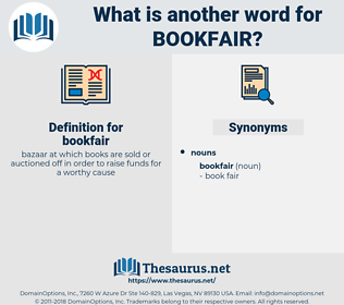bookfair, synonym bookfair, another word for bookfair, words like bookfair, thesaurus bookfair