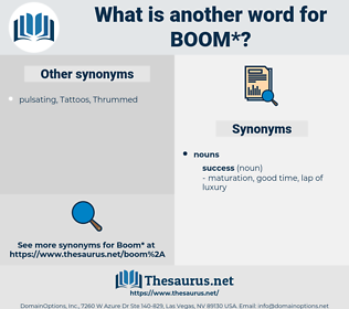 boom, synonym boom, another word for boom, words like boom, thesaurus boom