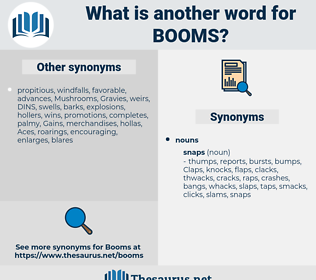 booms, synonym booms, another word for booms, words like booms, thesaurus booms