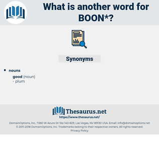 boon, synonym boon, another word for boon, words like boon, thesaurus boon