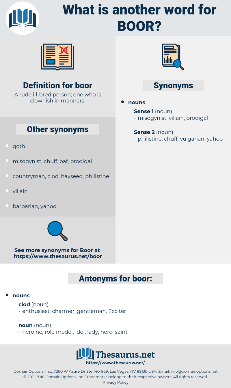 boor, synonym boor, another word for boor, words like boor, thesaurus boor