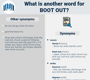 boot out, synonym boot out, another word for boot out, words like boot out, thesaurus boot out