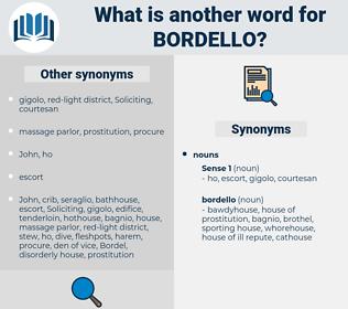 bordello, synonym bordello, another word for bordello, words like bordello, thesaurus bordello