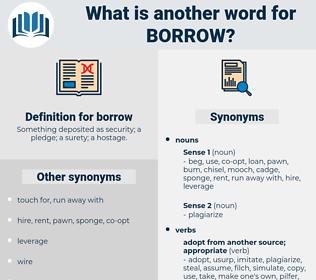 borrow, synonym borrow, another word for borrow, words like borrow, thesaurus borrow