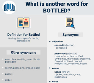 Bottled, synonym Bottled, another word for Bottled, words like Bottled, thesaurus Bottled
