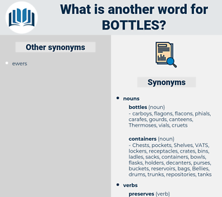 bottles, synonym bottles, another word for bottles, words like bottles, thesaurus bottles