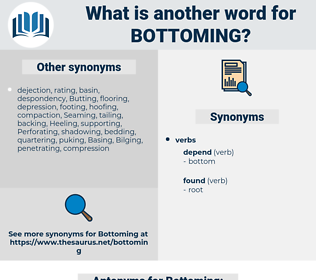 Bottoming, synonym Bottoming, another word for Bottoming, words like Bottoming, thesaurus Bottoming