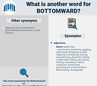 bottomward, synonym bottomward, another word for bottomward, words like bottomward, thesaurus bottomward